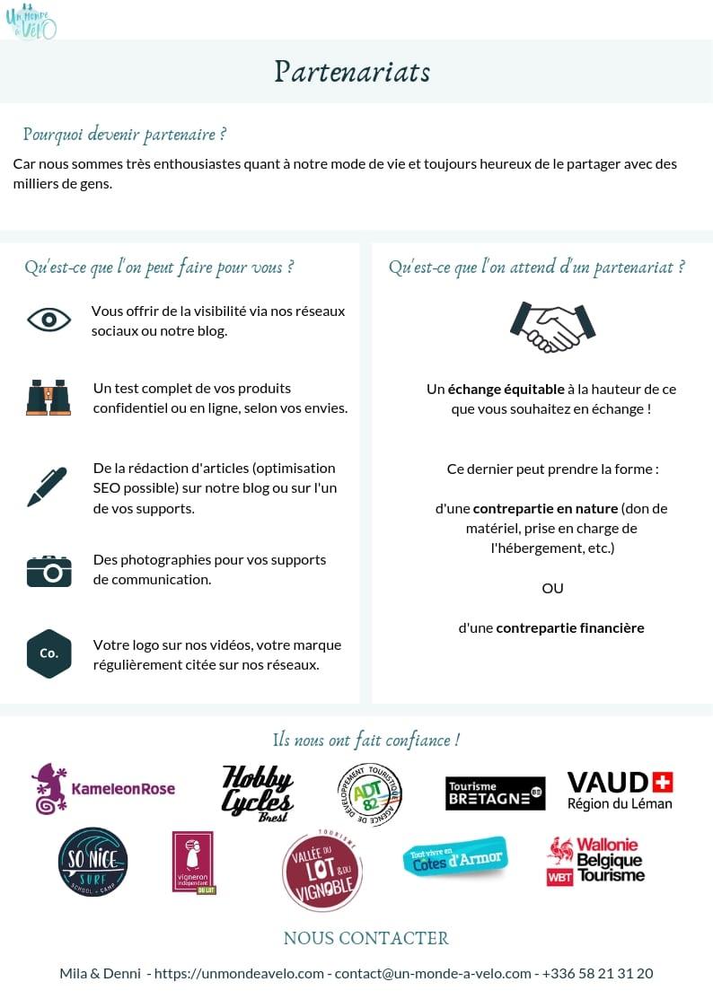 Dossier de sponsoring - page 6 - Un Monde à vélo