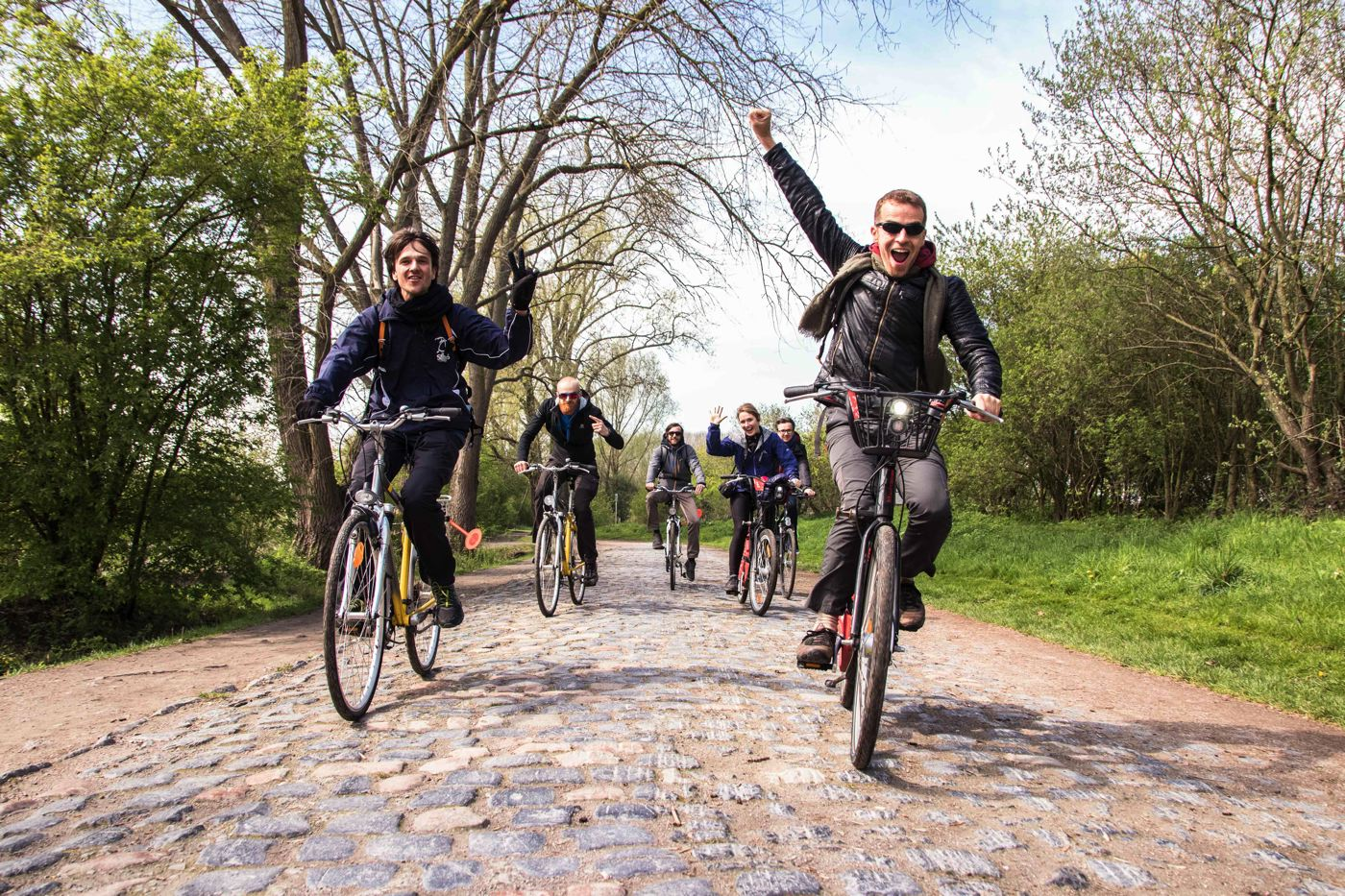 À vélo au départ de Lille sur les traces du Paris-Roubaix