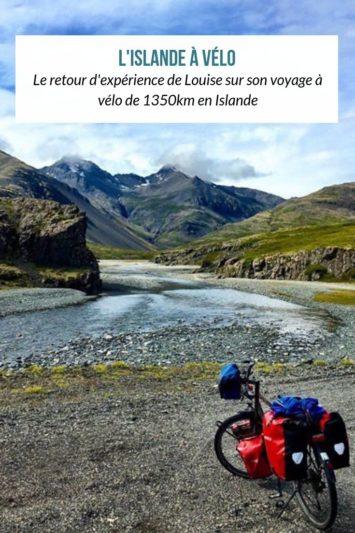 L'Islande à vélo racontée par Louise - nature, froid et vent