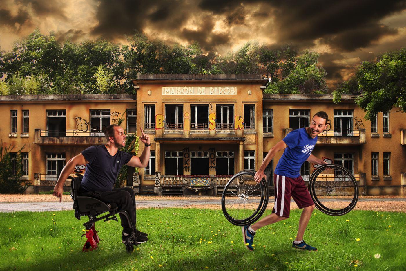 Un voyage à vélo pour sensibiliser au handicap avec Envie'Cap