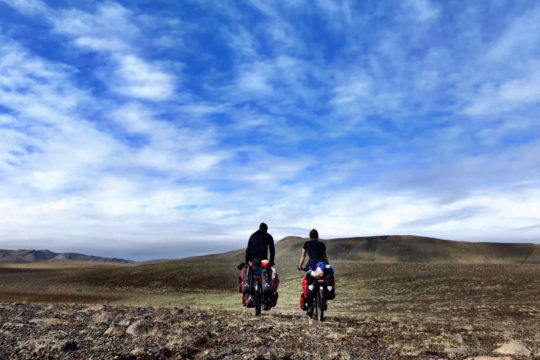 Louise - Islande à vélo
