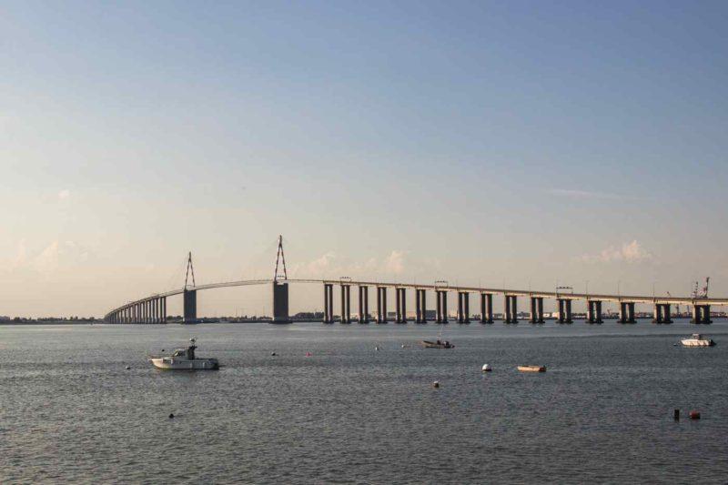 Pont de Saint-Nazaire - Vélodyssée