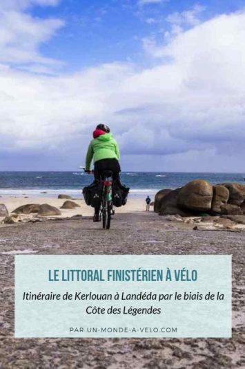 La Littorale à Vélo - itinéraire de Kerlouan à Landéda le long de la côte
