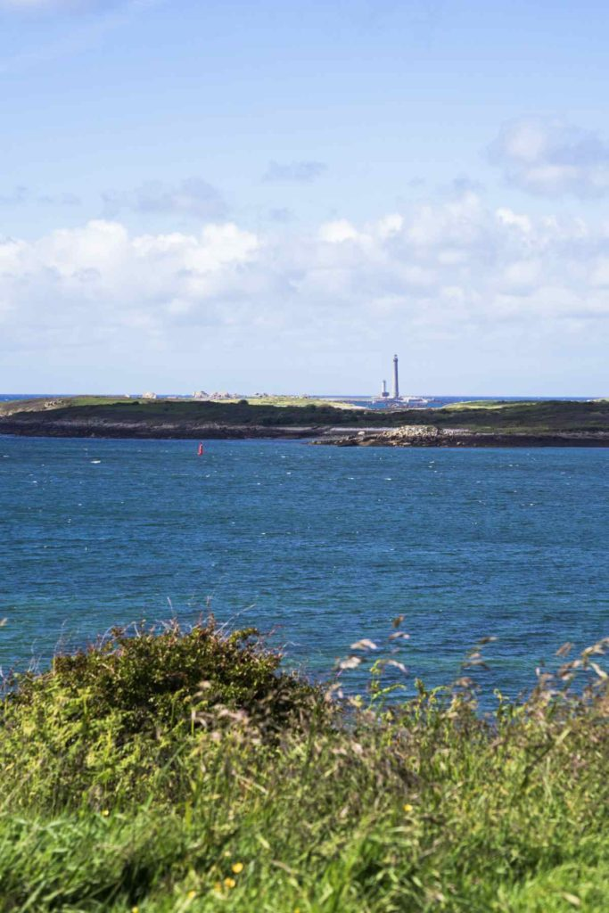 Point de vue, route de la Corniche Aber Wrac'h