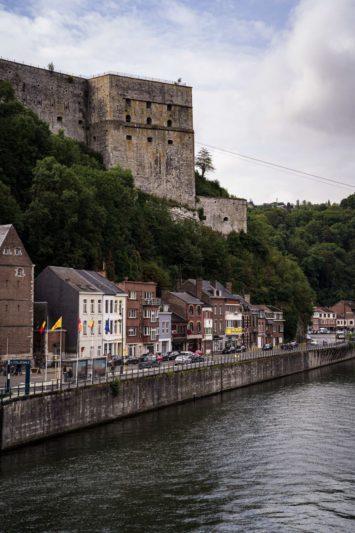 fort de Huy surplombant la Meuse