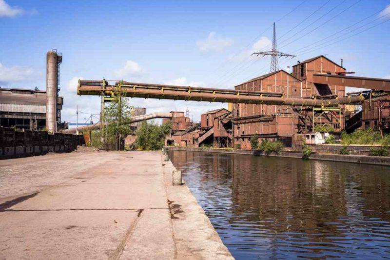 usine abandonnée - Charleroi