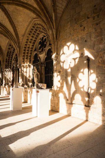 cloître Cathédrale de Noyon - bibliothèque du Chapitre