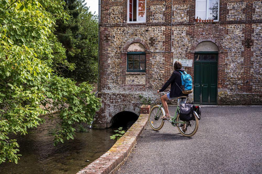 Valmont - Fécamp à vélo