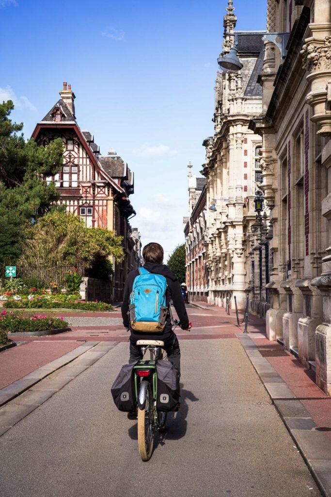 Visite de Fécamp à vélo