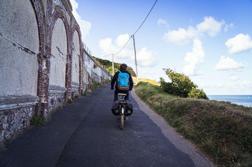 Sortie de Fécamp à vélo