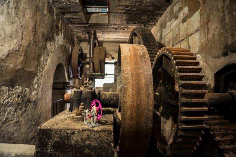 Moulin de Chitré - mécanisme