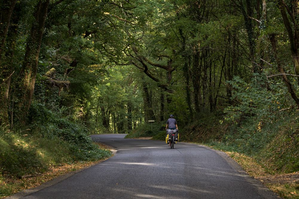 Route Vienne à vélo - Scandibérique