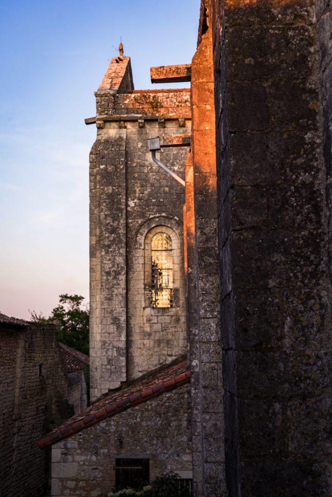 Chauvigny - Vienne collégiale saint pierre - Scandibérique