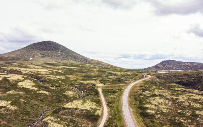 col Muen - Norvège à vélo