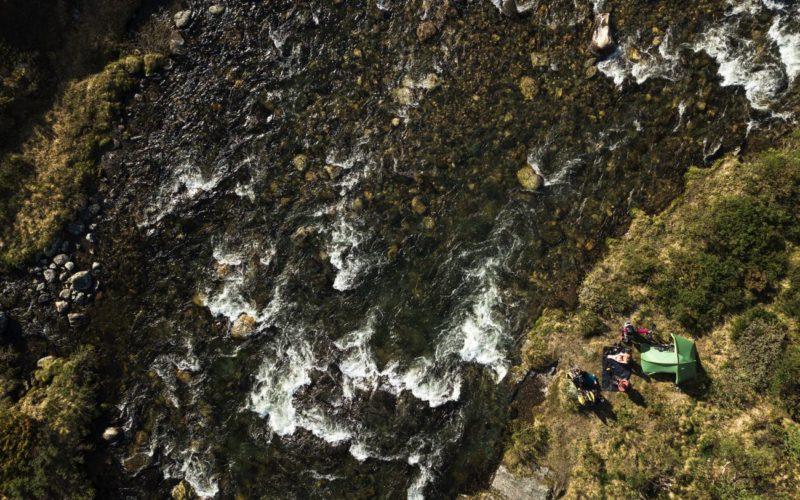 Bivouac rivière - Norvège