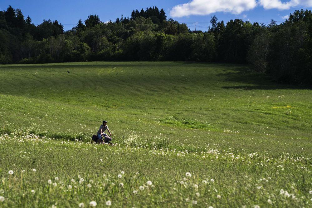 piste cyclable aéroport - Trondheim