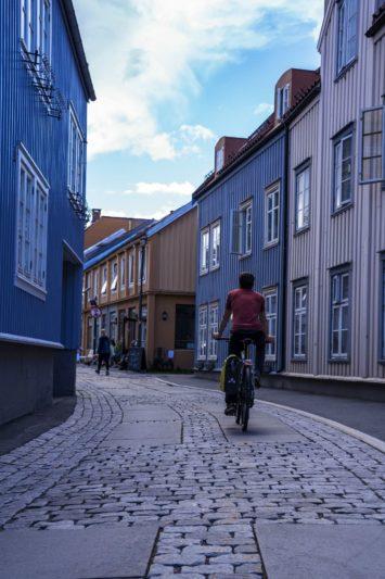 Trondheim - Norvège à vélo