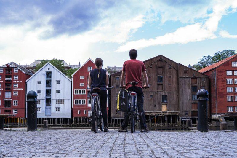 Trondheim - voyage à vélo en Norvège