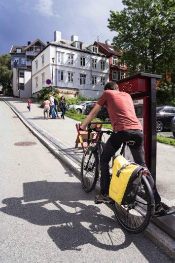 pousse-vélo Norvège - Trondheim