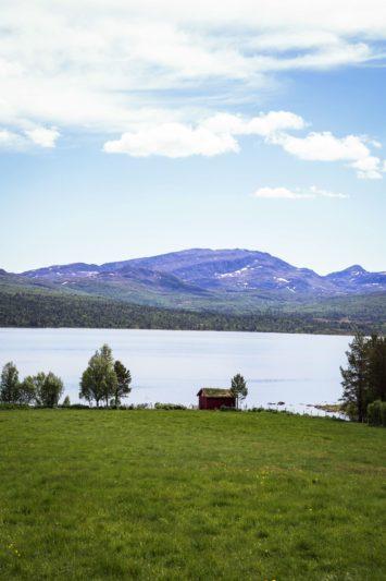 Norvège à vélo - lac