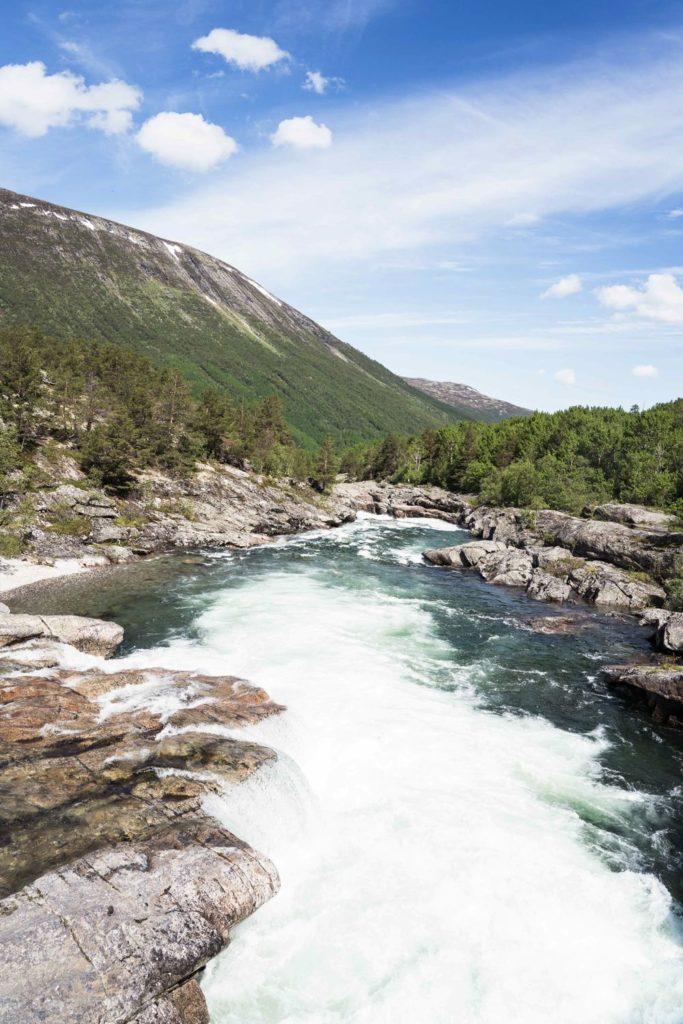 cascade E6 - Norvège à vélo