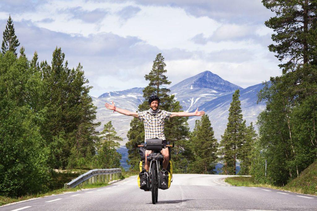 Norvège à vélo via l'EuroVelo 3