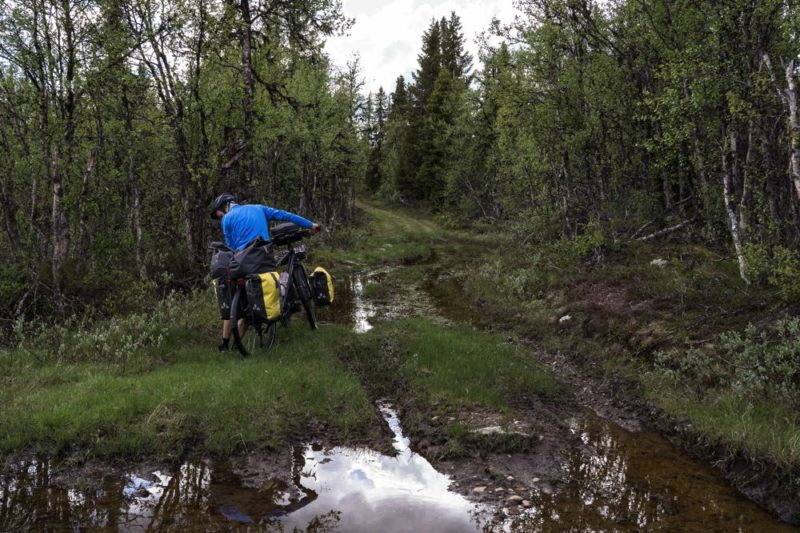 Gravel Norvège à vélo