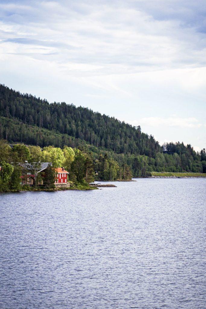 Lac Mjøsa - Lillehammer