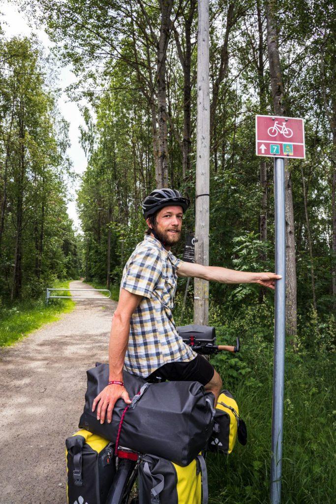 Panneau sortie Oslo