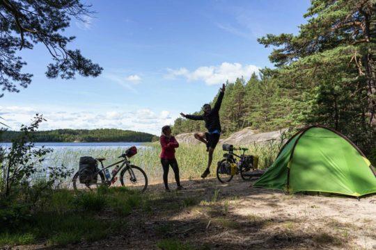 Suède à vélo - EuroVelo 3