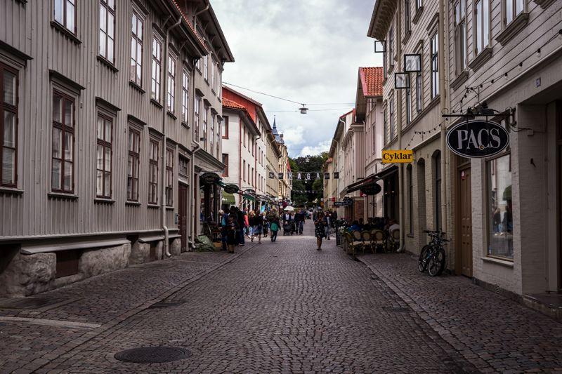 Visite de Göteborg - Suède à vélo