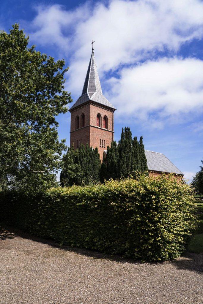 église briques Danemark