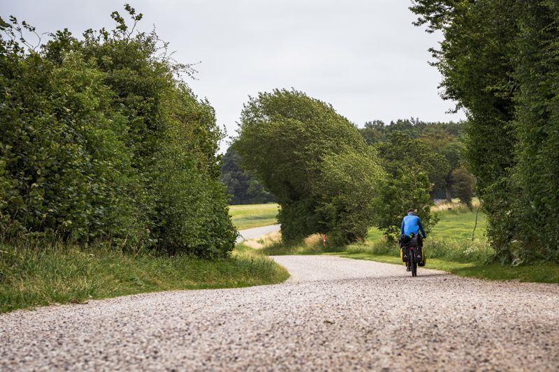 Gravel road - Danemark à vélo - Hæeverjen