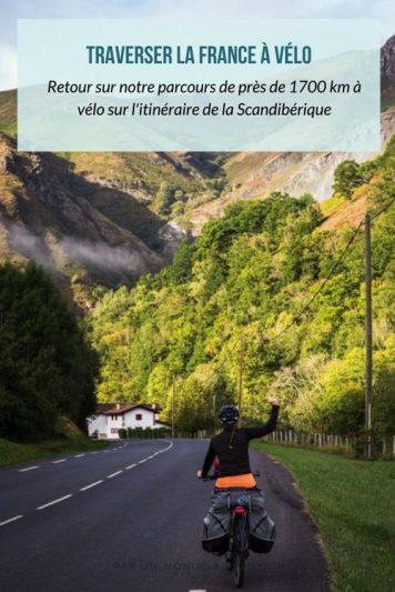 La Scandibérique : un parcours cyclables de 1700 km du nord au sud de la France