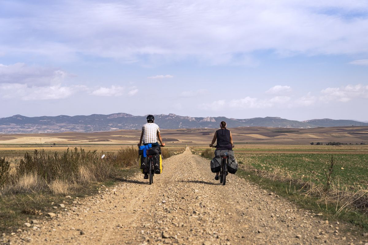 L'EuroVelo 3 en Espagne sur le Camino Francés