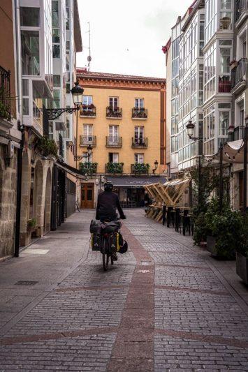 Centre-ville Burgos - EuroVelo 3 - Espagne