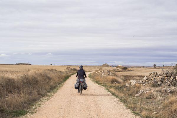 Camino francés à vélo Espagne