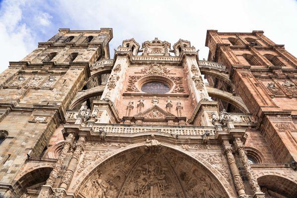 Cathédrale d'astorga - EuroVelo 3 en Espagne