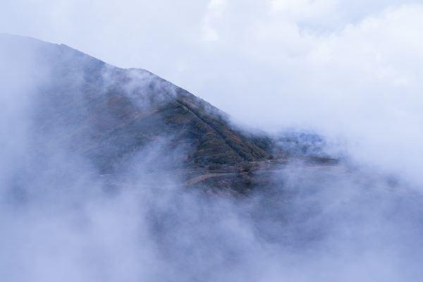 Brume montagne - Camino Francés