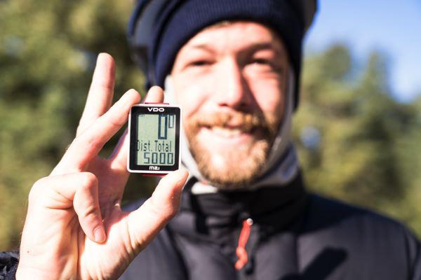 5000 km parcourus - EuroVelo 3 - Espagne