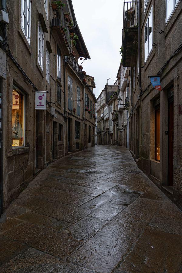Rues de Saint-Jacques de Compostelle