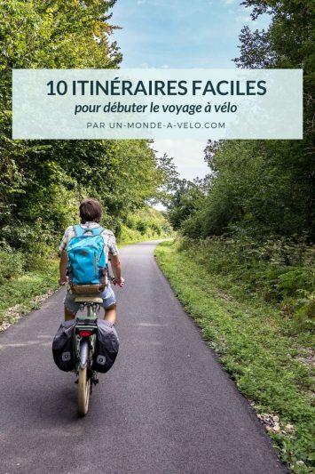 Itinéraires vélo faciles pour débuter le voyage à vélo en France