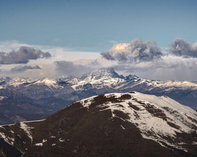 Vue depuis la station de ski de Limone