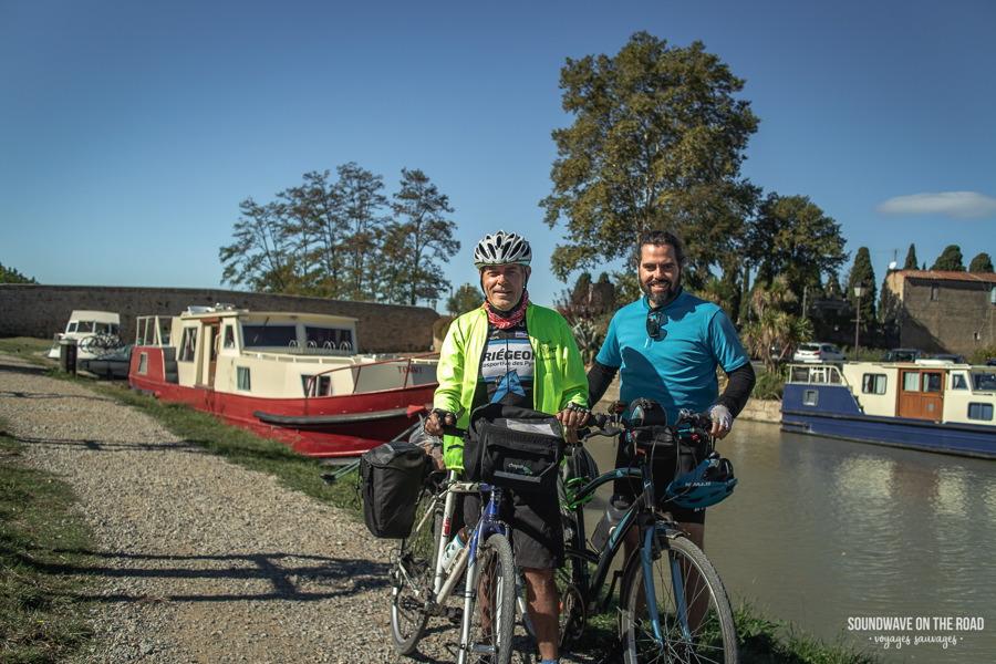 Canal des deux mers à vélo, escapade Père-fils