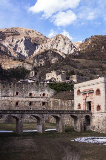 Fort de Vinadio - Province de Coni
