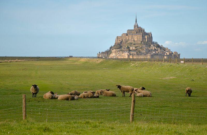 Mont Saint-Michel - Véloscenie - Rencontre le Monde