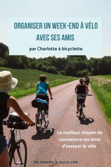 Comment convaincre ses amis de partir à vélo ?