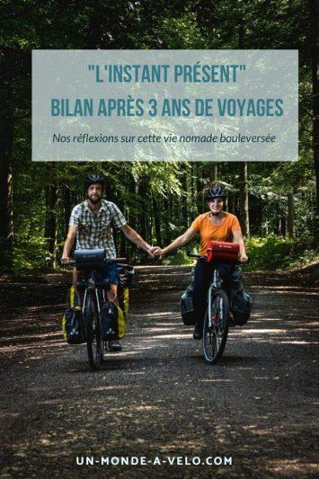 3 ans de voyages à vélo - 17 000 km parcourus - l'heure du bilan sur cette nouvelle vie