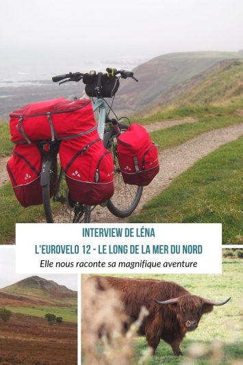 Interview de Léna sur son itinéraire sur la Véloroute de la Mer du Nord - L'EuroVelo 12. Une aventure entre la Scandinavie et le Royaume Uni