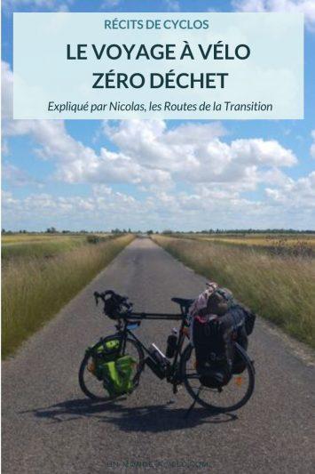 Interview Les Routes de la Transition - le voyage à vélo zéro déchet